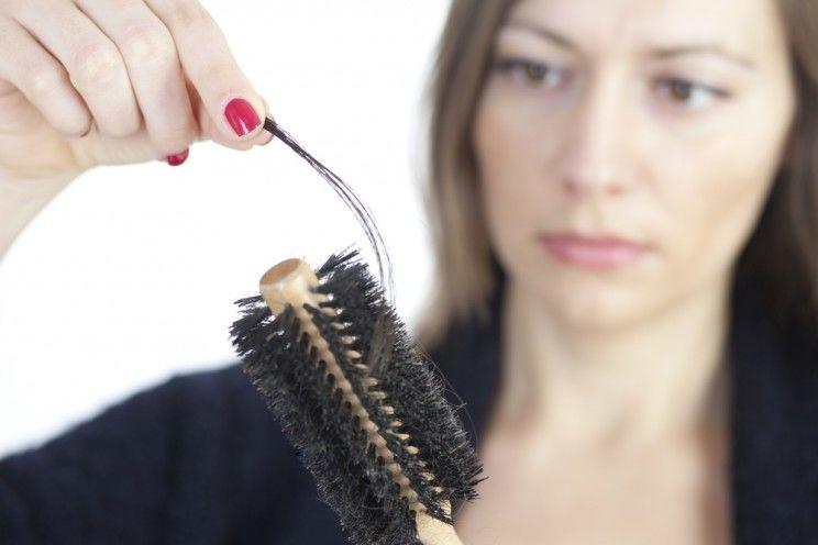 ریزش مو در کم خونی